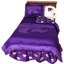 NCAA Kansas State Reversible Comforter Set