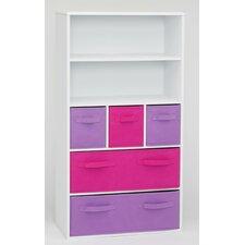 """Storage 47.3"""" Bookcase"""