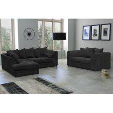 Darcey 4 Seater Corner Sofa with 2 Seater Sofa