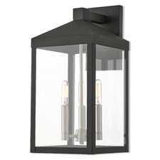 Abbas 2-Light Outdoor Wall Lantern