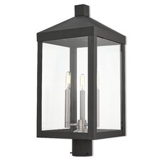 Abbas 3-Light Outdoor Lantern Head