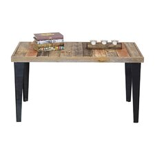 Ochoa Wood and Metal Coffee Table by Union Rustic