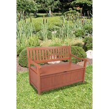 Houston 2-Seater Eucalyptus Garden Bench