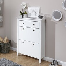 Danielle 12 Pair Shoe Storage Cabinet