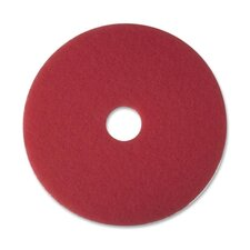 "Buffer Pad, 12"", Red, 5 Pads/Carton"