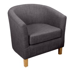 Jamie Tub Chair and Ottoman