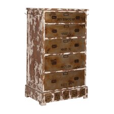 Mailla 5 Drawer Accent Chest by Bungalow Rose