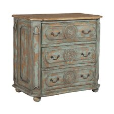 Atwell 3 Drawer Accent Chest by One Allium Way