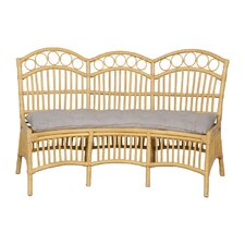 Newberry Rattan Entryway Bench by Bay Isle Home