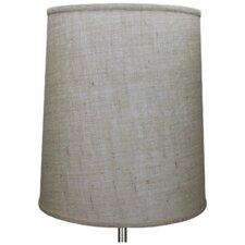 "15"" Burlap Drum Lamp Shade"