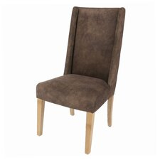 Blain Hide Fabric Dining Side Chair (Set of 2)
