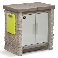 Stone Front Patio Cooling & Storage Cooler