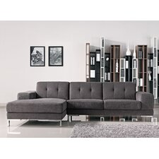 Taul Fabric Reversible Chaise Sectional by Brayden Studio