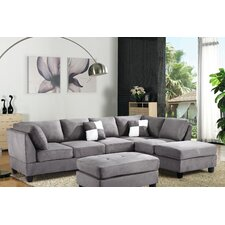 Amberwood Reversible Chaise Sectional