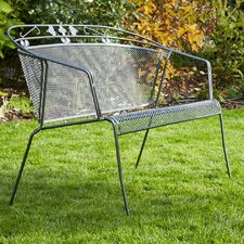 Gartenbank Elegance aus Stahl