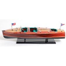 Chris Craft Triple Cockpit Painted Model Boat