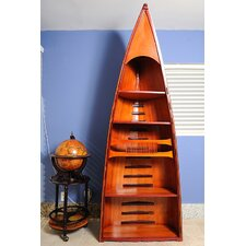 Canoe 74 Accent Shelves Bookcase by Old Modern Handicrafts
