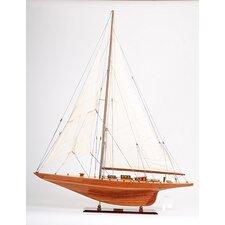 Large Shamrock Model Boat