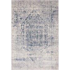 Abbeville Gray/Dark Blue Area Rug