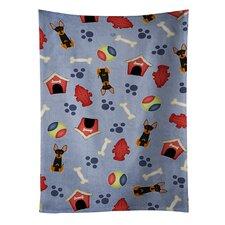 Dog House English Toy Terrier Dishcloth