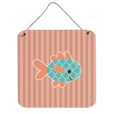 Fish Vertical Wall Décor