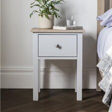 Burford 1 Drawer Bedside Table