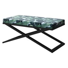 Ahumada X-Base Upholstered Bedroom Bench by Everly Quinn