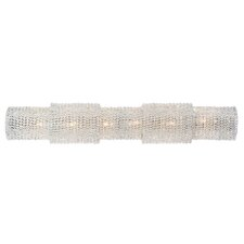 Shery Modern Crystal 6-Light Bath Bar by Everly Quinn