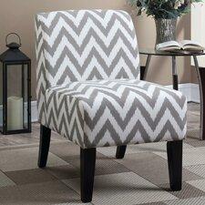 Janae Chevron Slipper Chair by Ebern Designs