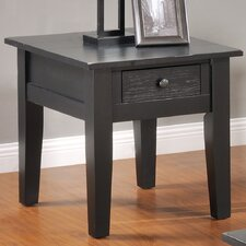 Corvally Square End Table by Alcott Hill