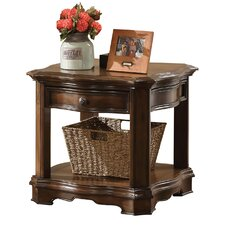 Allegany End Table by Astoria Grand