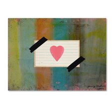 Love Yourself' Graphic Art Print on Wrapped Canvas by Trademark