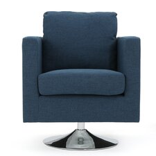 McCauley Modern Fabric Armchair by Home Loft Concepts