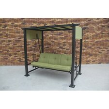 Trevino 3 Person Porch Swing with Stand