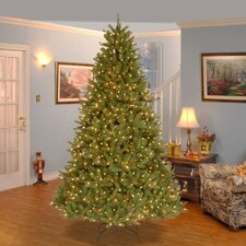 Grande Fir 7.5' Green Artificial Christmas Tree with 750 Clear Lights and Stand