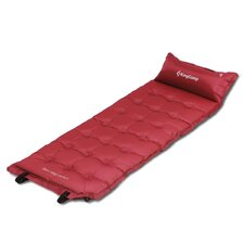 Comfort Self-Inflating Camping Cot with Built-in Pillow