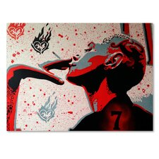 Lucky Seven' Graphic Art Print on Wrapped Canvas by Trademark