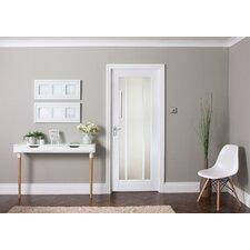 Worcester 3 Panel White Glazed Internal Door