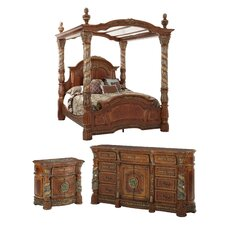 Villa Valencia Canopy Customizable Bedroom Set