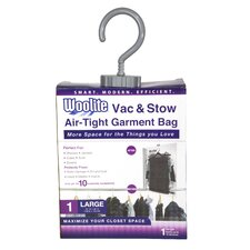 Woolite Air-Tight Hanging Vacuum Storage Bag