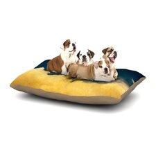 Nick Atkinson 'Celestial Elephant' Dog Pillow with Fleece Cozy Top