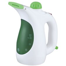 Handheld Garment Steamer with Fabric Brush and Lint Remover