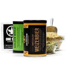 2 Gal Dante's Delight Wheat Beer Plus Refill Kit