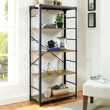 Cortney Iron 64 Standard Bookcase by Williston Forge