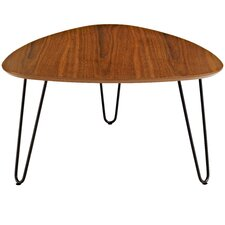Bisson Hairpin Leg Wood Coffee Table