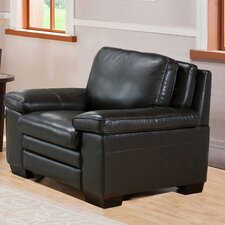 Aylesworth Leather Club Chair by Darby Home Co