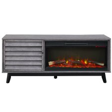 "Williamstown 60"" TV Stand with Electric Fireplace"