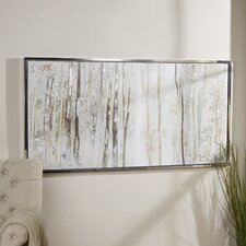 Birch Trees Framed Canvas