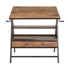 Mango Wood Drafting Table