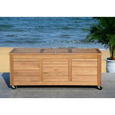 Elina Wood Deck Box
